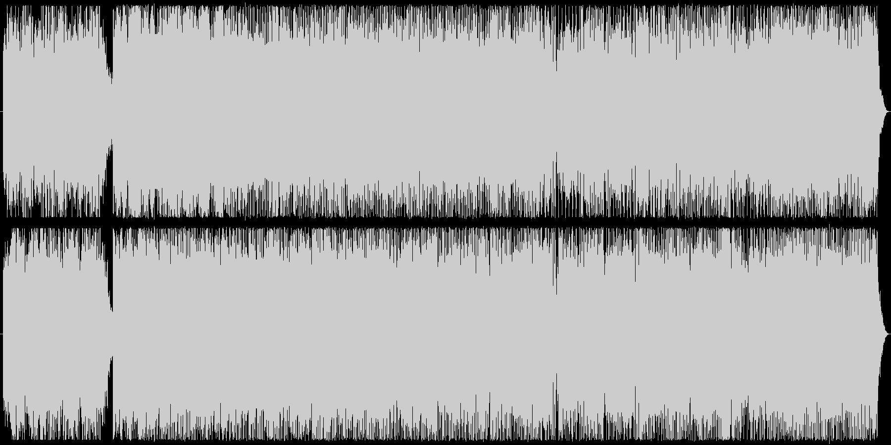 明るい爽やかインスト 映像・入場の未再生の波形