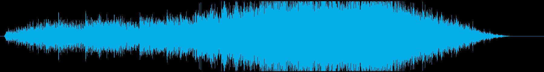 電気研究所暗い空間。科学技術発見の...の再生済みの波形
