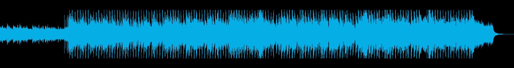 オープニングにぴったりのクリスマスBGMの再生済みの波形
