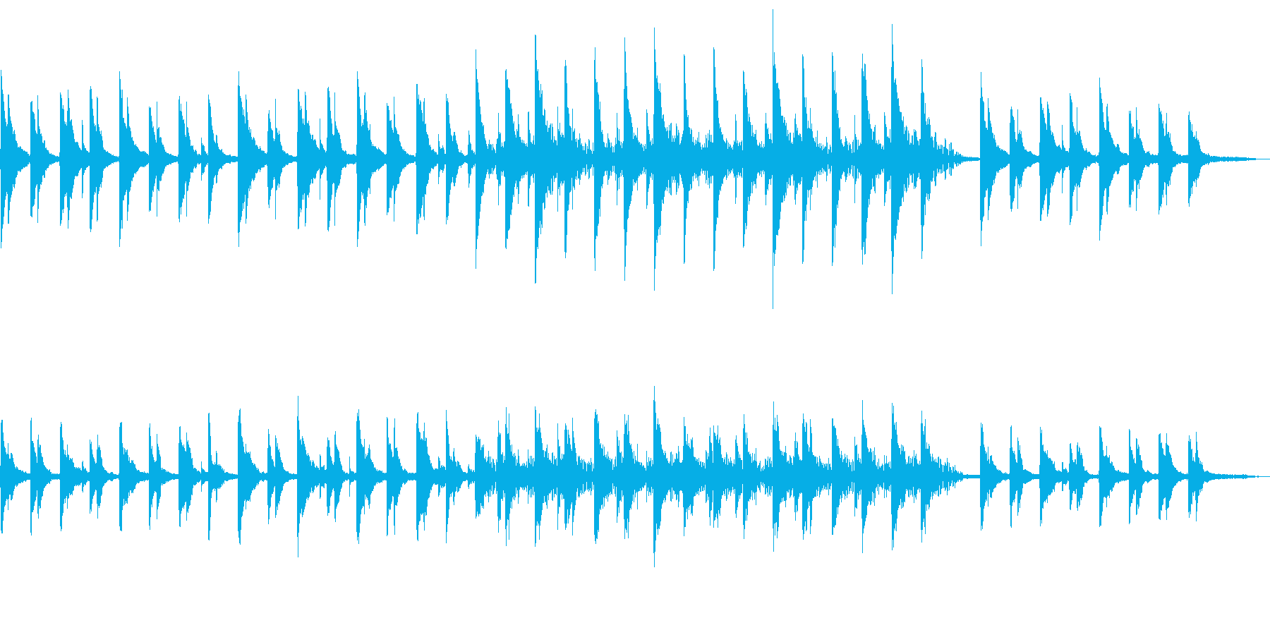 【ストリングス抜き】静かで沁みるコーポレの再生済みの波形