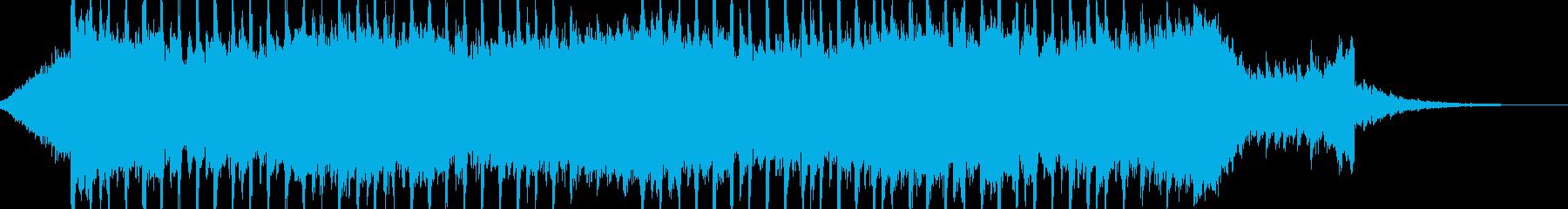 企業VP系43、爽やかギター4つ打ちcの再生済みの波形