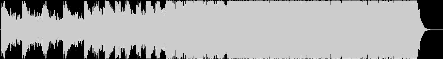緊迫感のあるシネマティック曲 1-2の未再生の波形