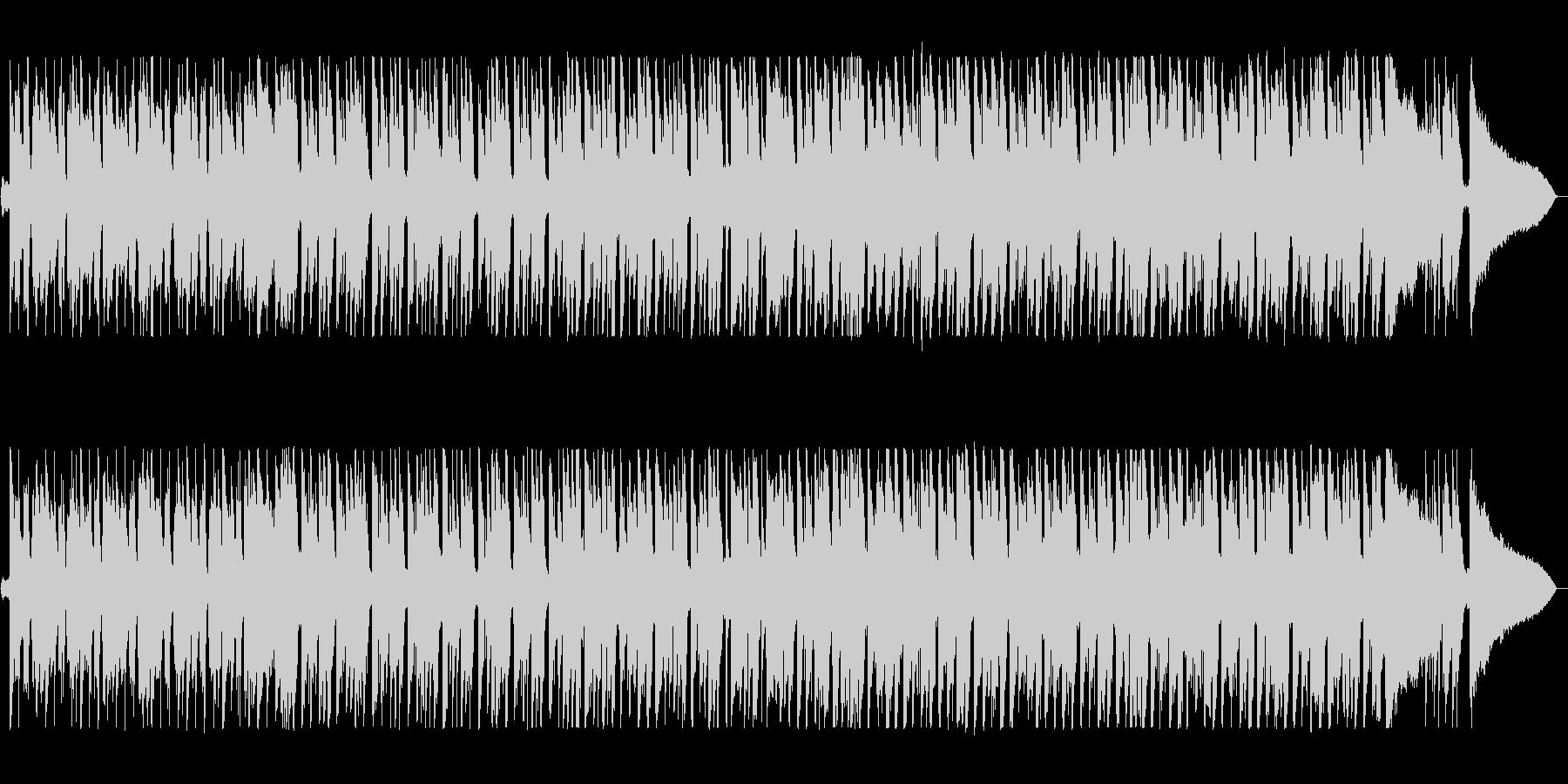 軽快でキャッチ―なシンセポップサウンドの未再生の波形