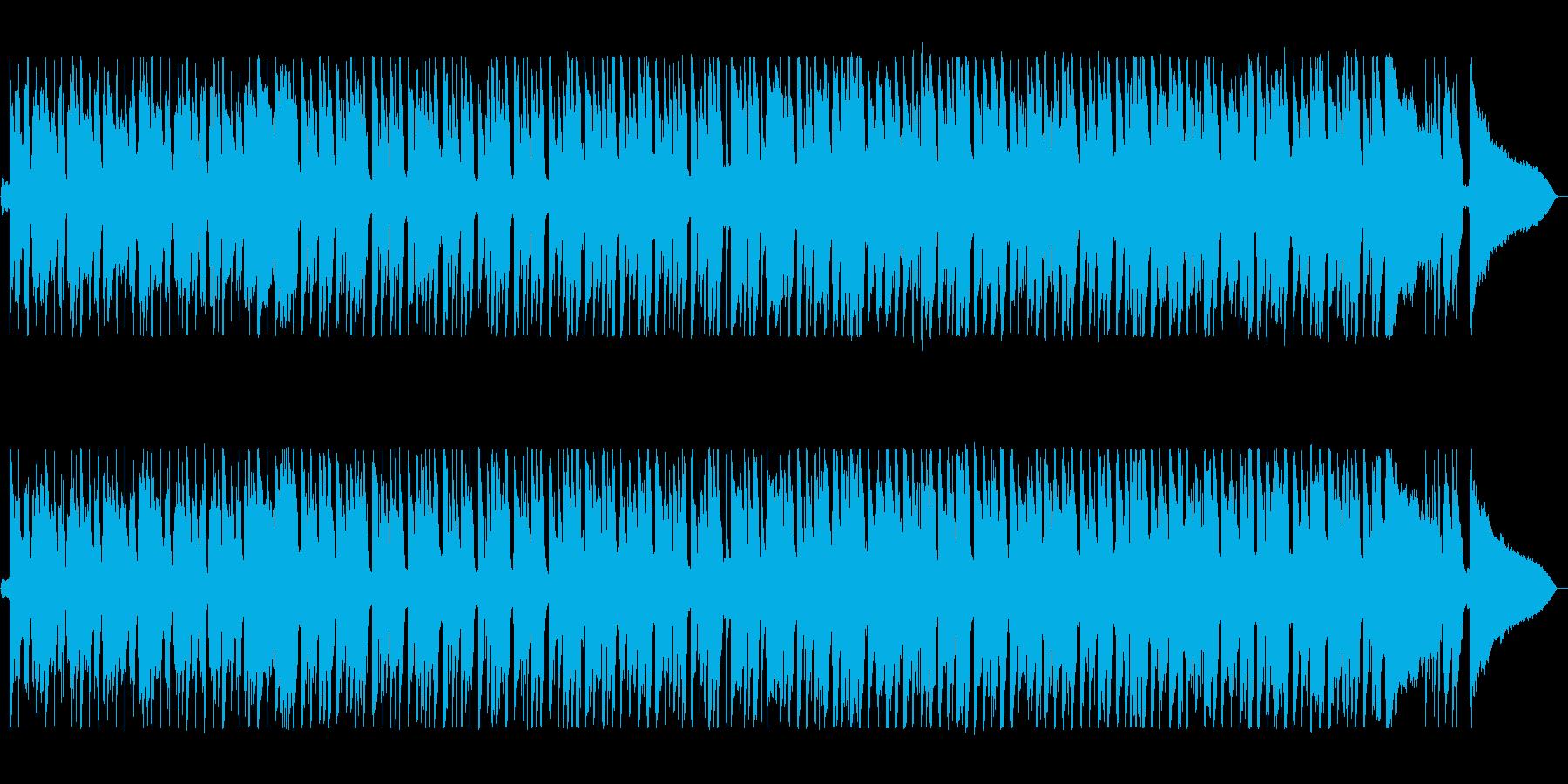 軽快でキャッチ―なシンセポップサウンドの再生済みの波形