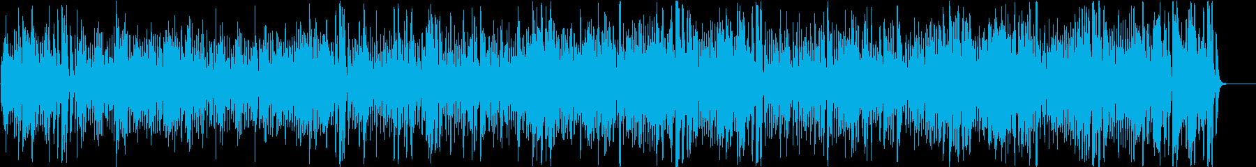 コミカルなフランス・アコーディオンジャズの再生済みの波形