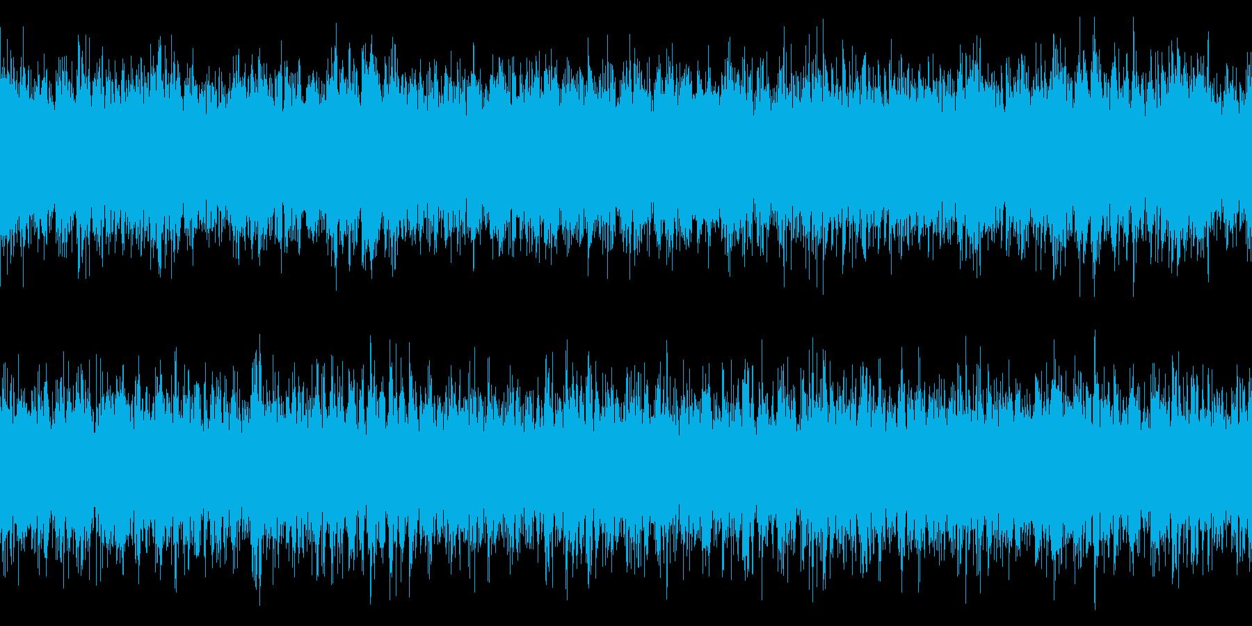 ループ仕様・ニュースや科学番組用 3の再生済みの波形
