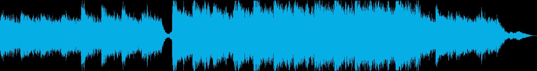現代の交響曲 劇的な 厳Sol ピ...の再生済みの波形