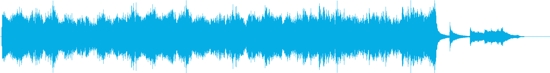 感動的ハリウッド風オーケストラ(短縮版)の再生済みの波形