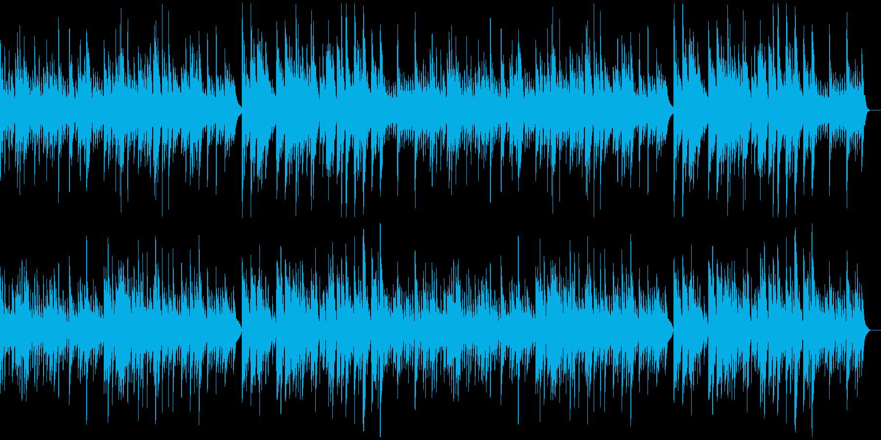 ほんわかした温もりのあるソロ・ピアノ曲の再生済みの波形