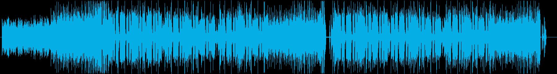 疾走感、kawaii、和風EDMの再生済みの波形