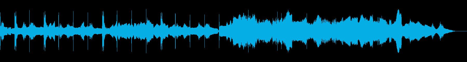 オーボエによる民謡風のループの再生済みの波形