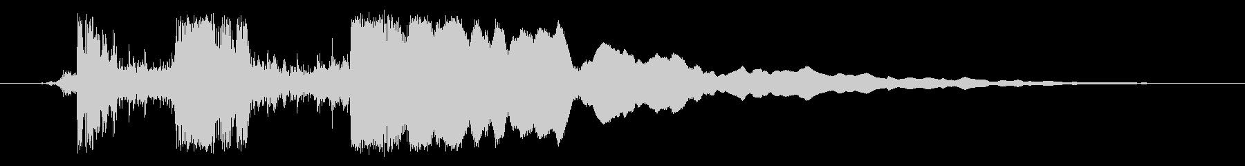ガチーン(レジスター)の未再生の波形