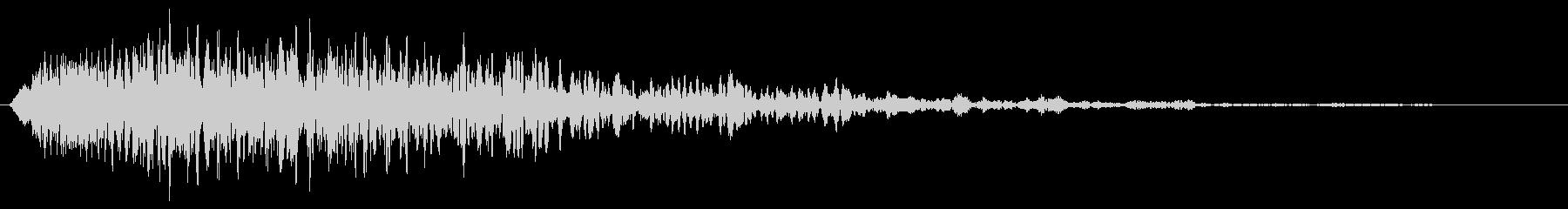 ヒューン①↓(落下音・ステータス下降)の未再生の波形