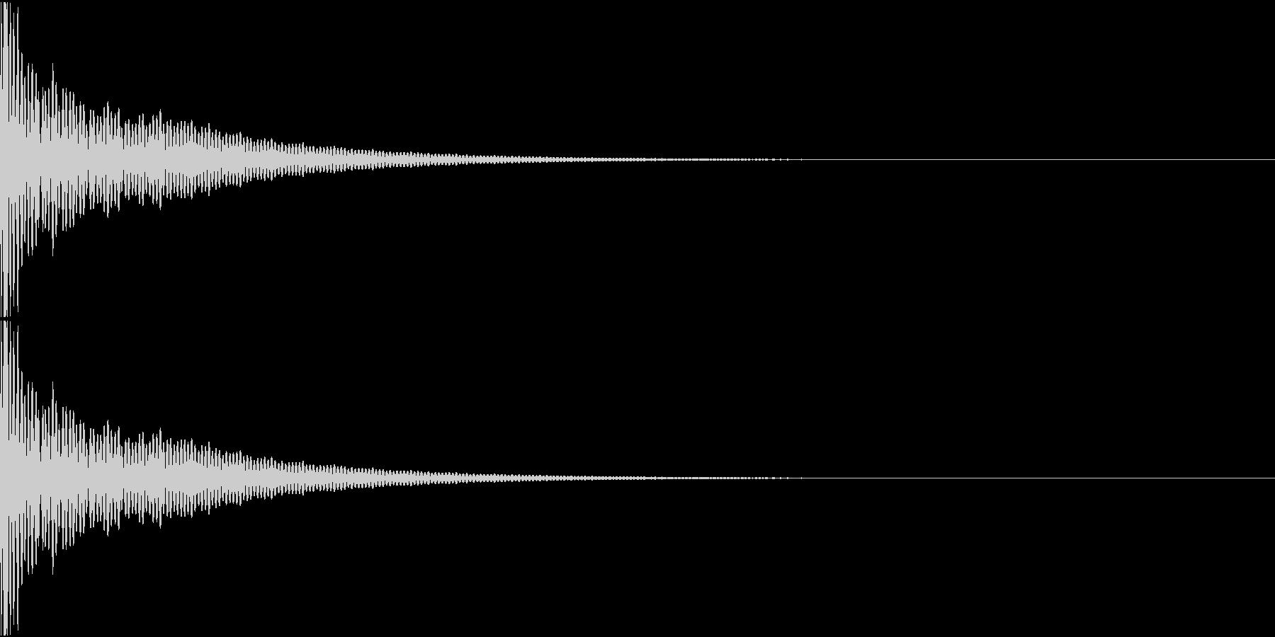 DTM Tom 23 オリジナル音源の未再生の波形