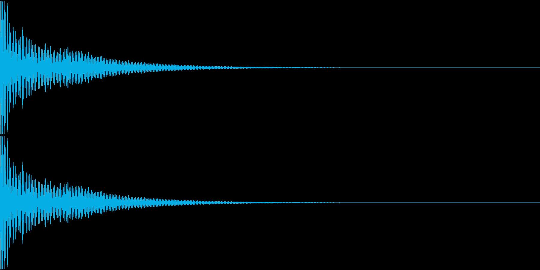 DTM Tom 23 オリジナル音源の再生済みの波形