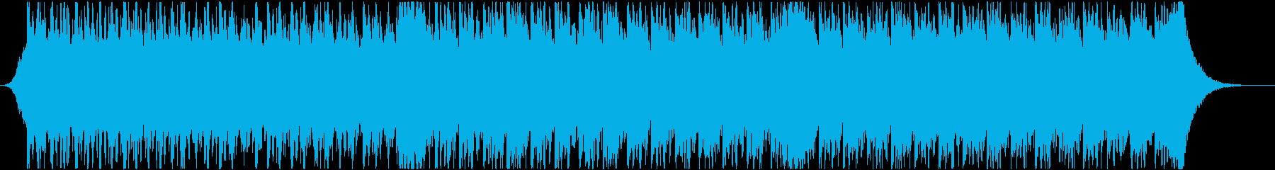 緊張感と疾走感のあるシネマティック曲 aの再生済みの波形
