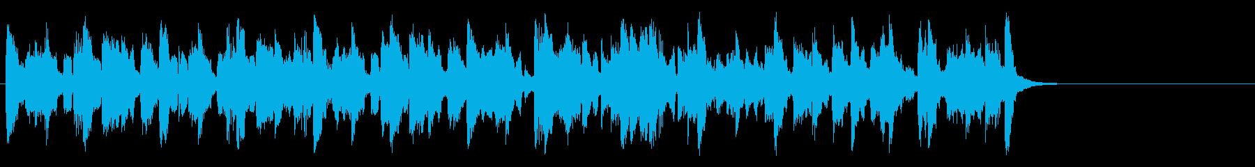 コミカルなほのぼのポップ(サビ~Aメロ)の再生済みの波形