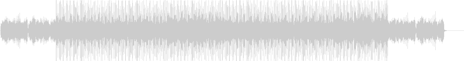 メロウなLO FIでCHILL なBGMの未再生の波形