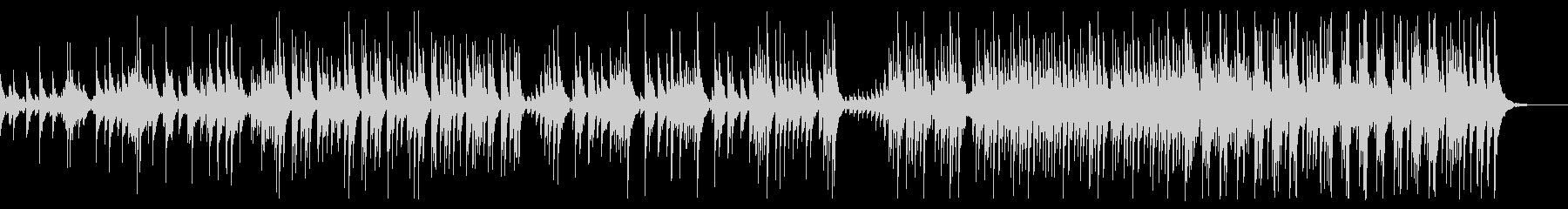 大太鼓と締太鼓のアンサンブルの未再生の波形