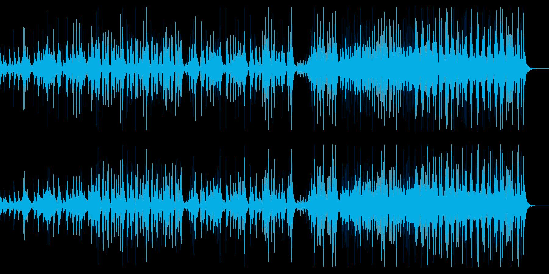 大太鼓と締太鼓のアンサンブルの再生済みの波形