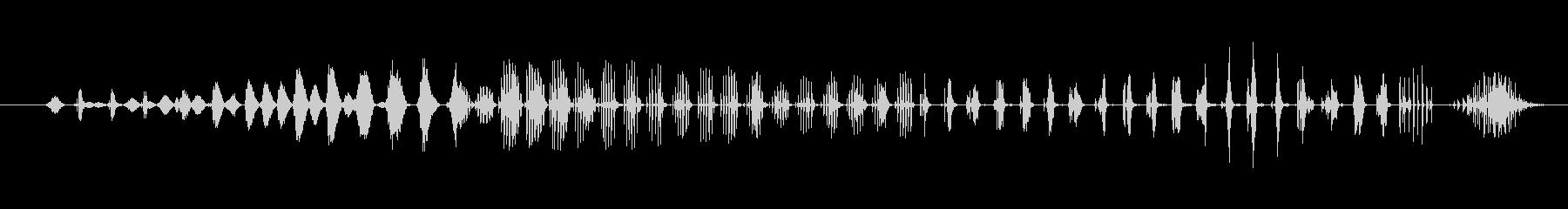 特撮 グリッチ伝送02の未再生の波形