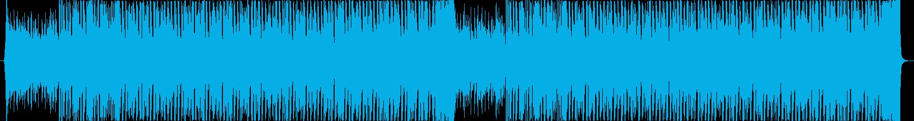 おしゃれ軽快華やかディスコネオソウルaの再生済みの波形