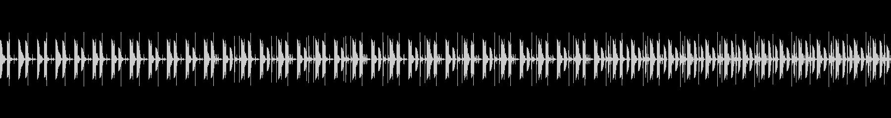 忍びこむドラムループ03の未再生の波形