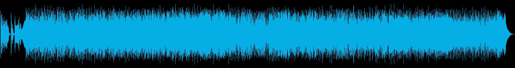 ホーンセクションとクラビの元気の出る作品の再生済みの波形
