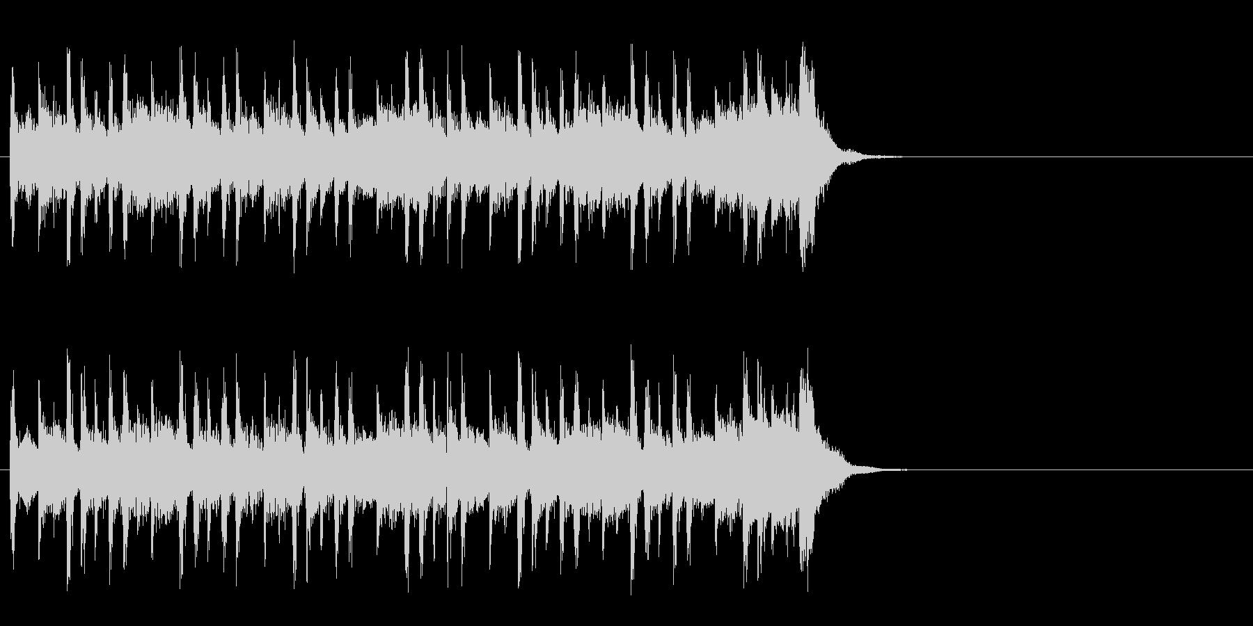大らかな気分になるポップ(イントロ)の未再生の波形