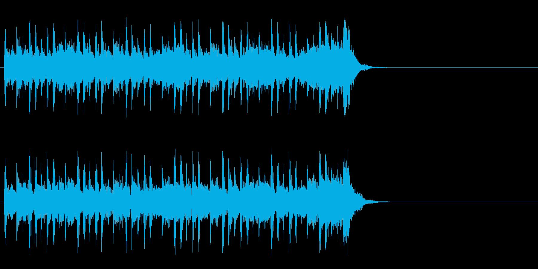 大らかな気分になるポップ(イントロ)の再生済みの波形