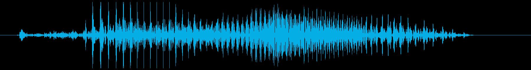 火曜の再生済みの波形