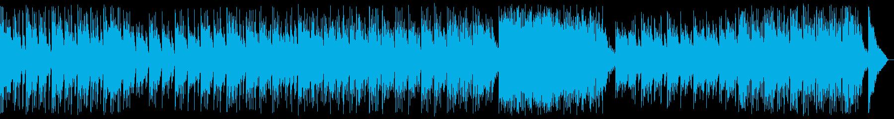 神秘的なくつろぎアンビエントの再生済みの波形
