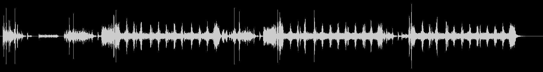 プリンター02-02(印刷 複数)の未再生の波形