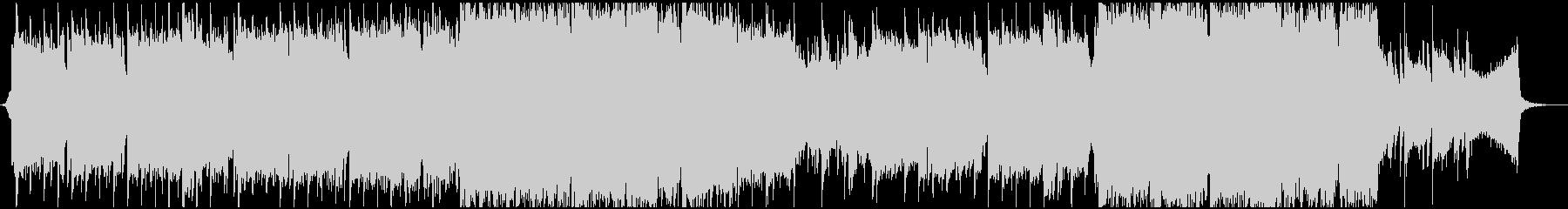 ティンホイッスルがメインの切ない曲の未再生の波形