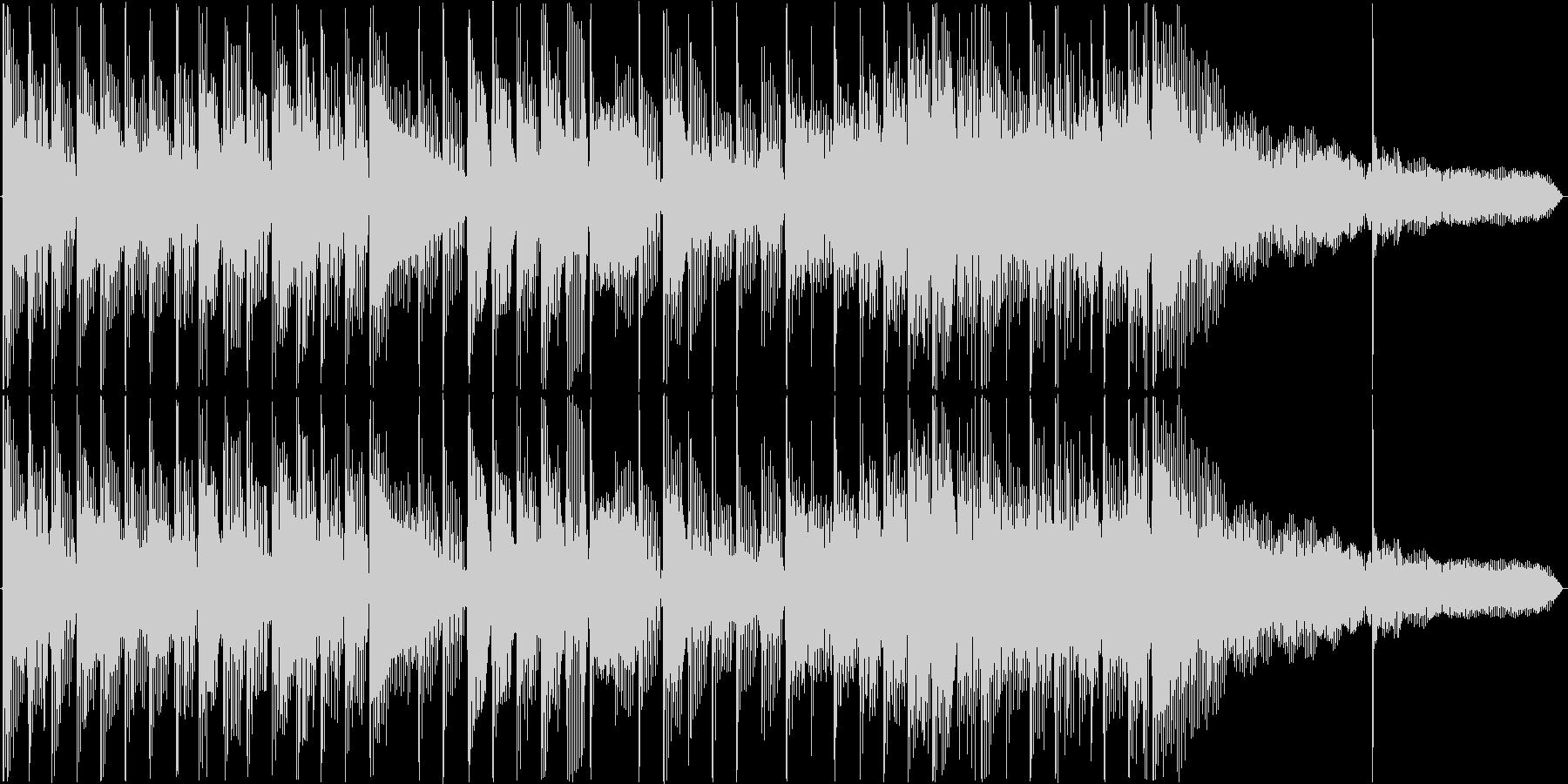 シンプルなサウンドロゴです。の未再生の波形