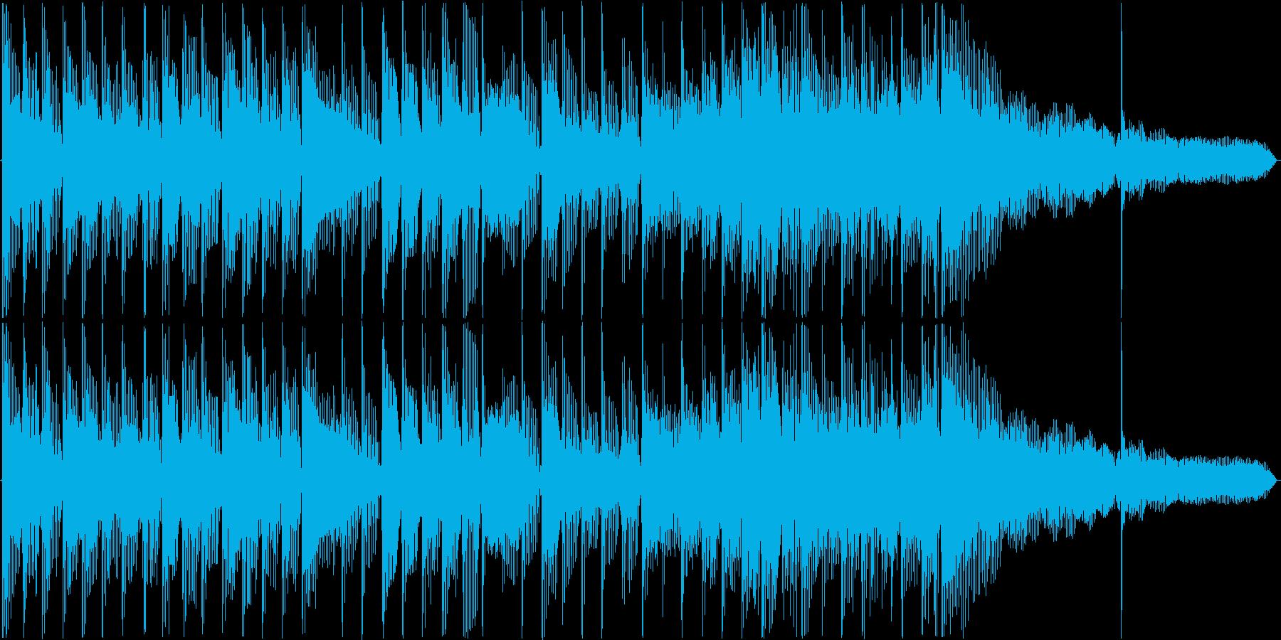 シンプルなサウンドロゴです。の再生済みの波形