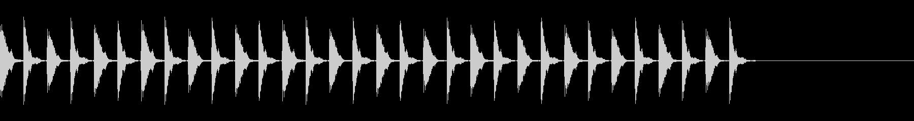 ポカポカ殴るA06の未再生の波形