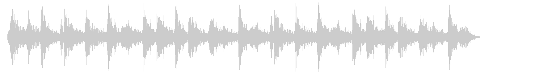 ジリリリリ(ゼンマイのねじを巻く音04)の未再生の波形