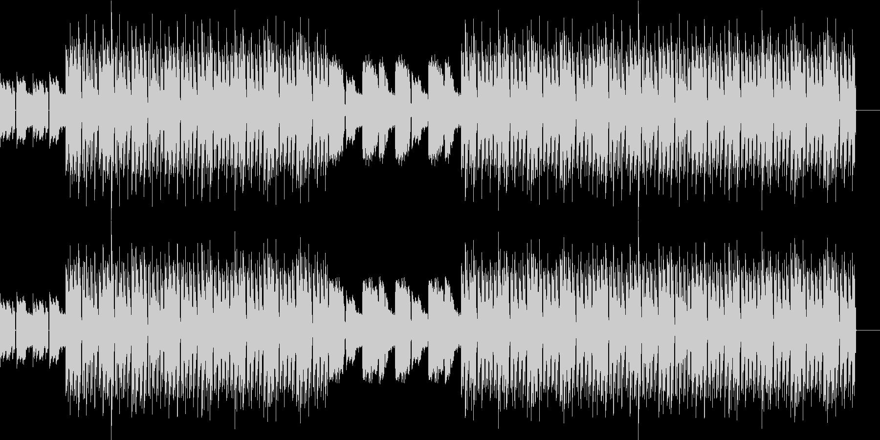 おしゃれ・低音重視・EDM・ベースの未再生の波形