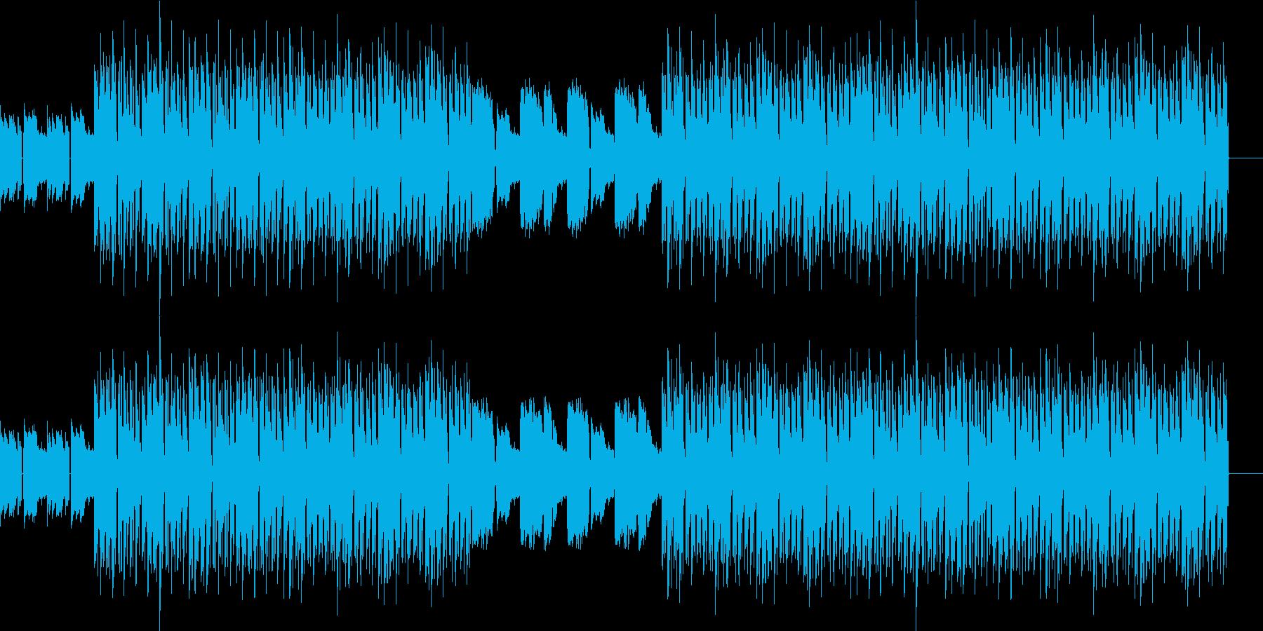 おしゃれ・低音重視・EDM・ベースの再生済みの波形