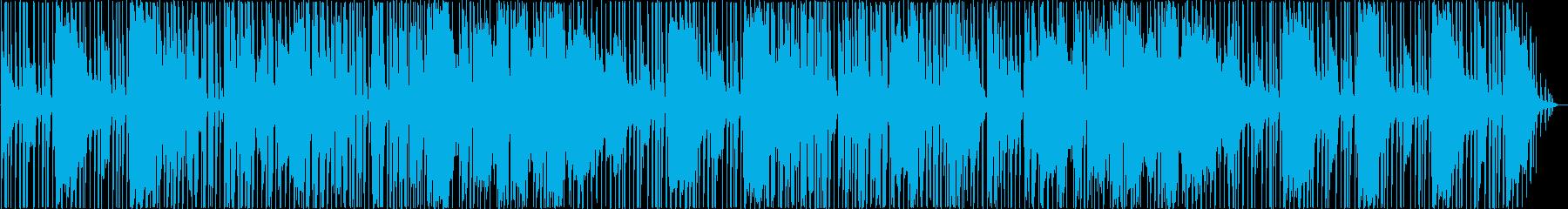 おしゃれなギターシンセサウンドの再生済みの波形