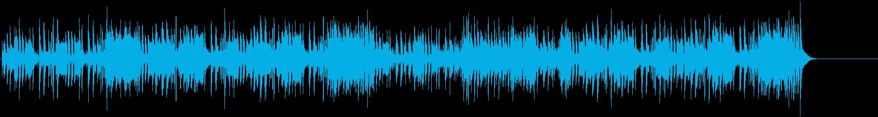 アクセントのあるフュージョン・サウンドの再生済みの波形