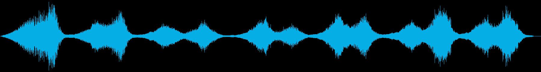 ヘビーエアリーブリージングSF&コ...の再生済みの波形