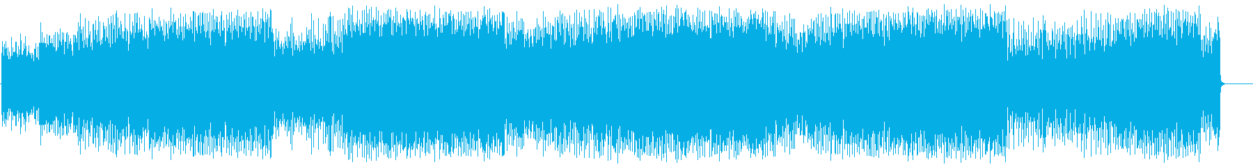 上品でダンサブルなエレクトロポップの再生済みの波形