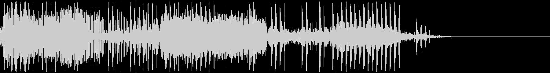 電気ショック/感電/ビリビリ/ビビビの未再生の波形