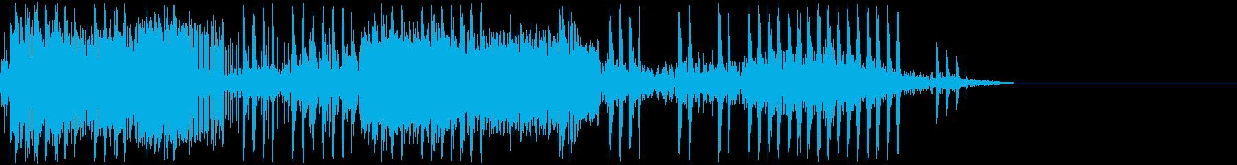電気ショック/感電/ビリビリ/ビビビの再生済みの波形