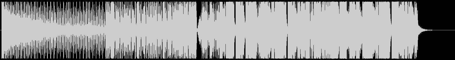 テクニカルな変則ビートの未再生の波形