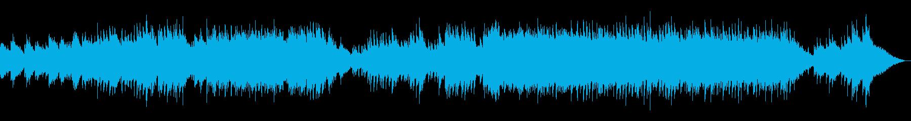 激情・憤怒・ドラマ 重厚なピアノソロの再生済みの波形