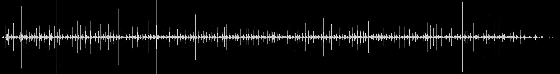 バイノーラル足音走るサンダル_足もとの未再生の波形