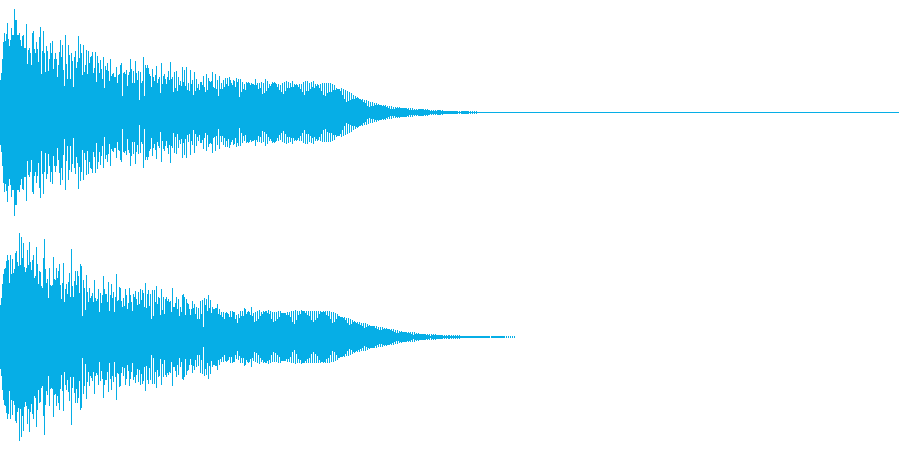 光る キュイーン ピカーン キラン 10の再生済みの波形